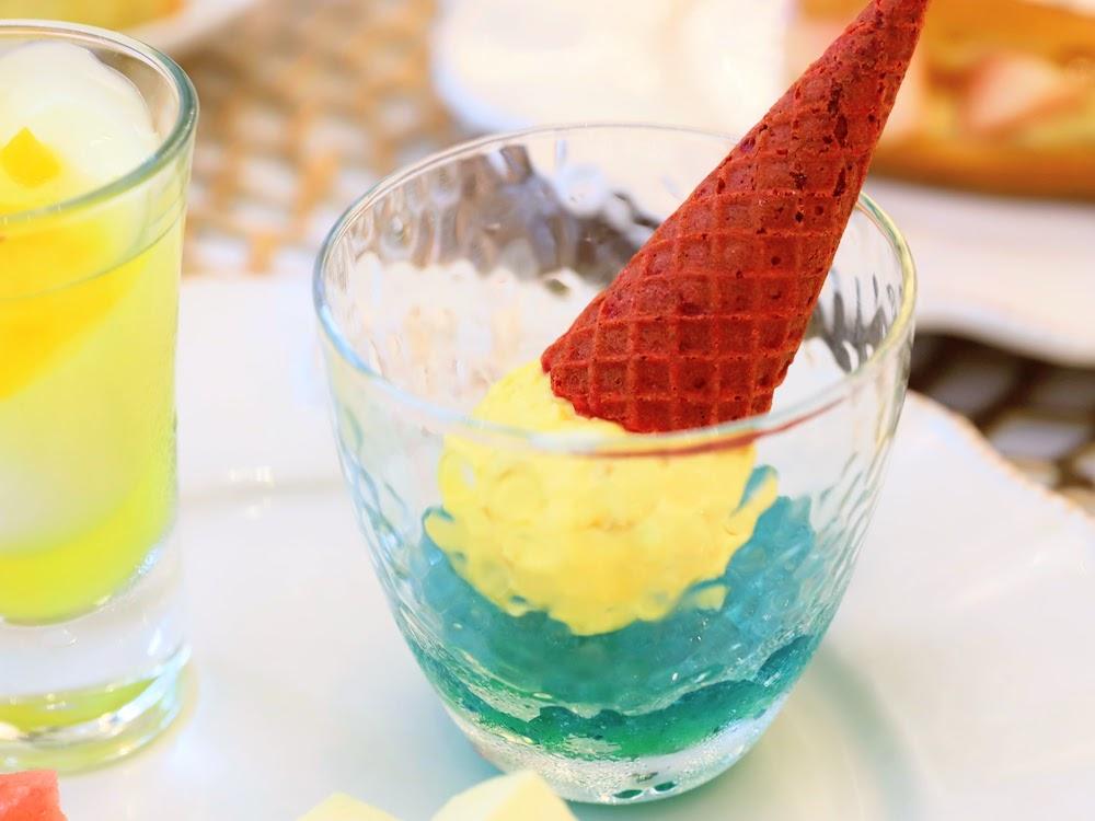 カフェ バイ セントラファエロチャペルギンザのアフタヌーンティー|アイスクリーム