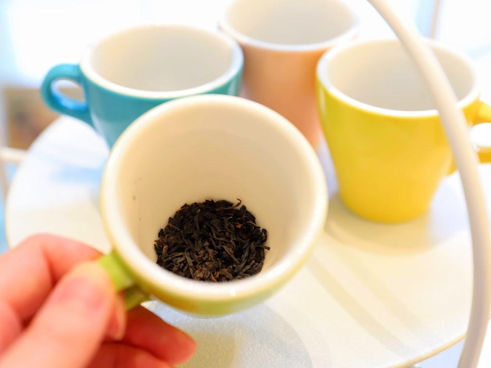 カフェ バイ セントラファエロチャペルギンザのアフタヌーンティー|茶葉