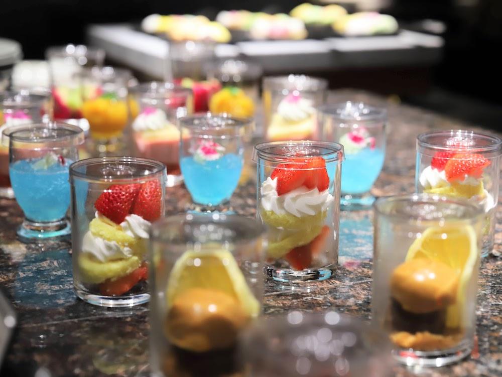 グランドプリンスホテル新高輪|ザクロのディナーブッフェ(デザート)