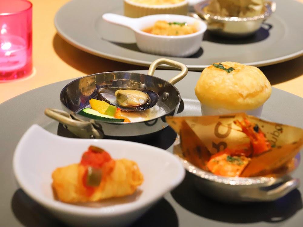 グランドプリンスホテル新高輪|ザクロのディナーブッフェ(皿盛り))