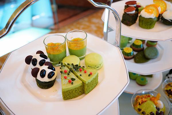 ANAインターコンチネンタルホテル東京の抹茶スイーツブッフェ|プライベートビュッフェ