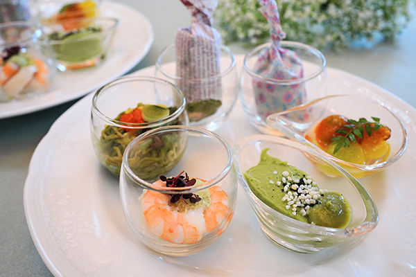 ANAインターコンチネンタルホテル東京の抹茶スイーツブッフェ|軽食