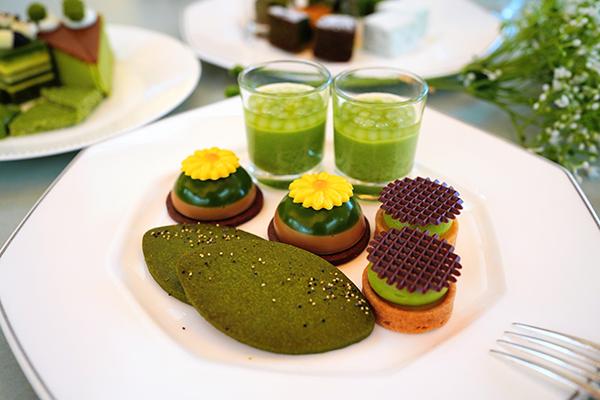 ANAインターコンチネンタルホテル東京の抹茶スイーツブッフェ|抹茶クッキー
