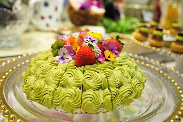 ホテル インターコンチネンタル 東京ベイのスイーツブッフェ|ショートケーキ