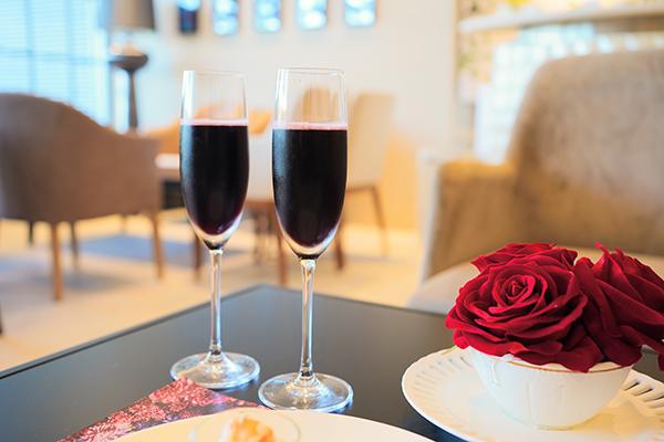 ホテル インターコンチネンタル 東京ベイのスイーツブッフェ|スパークリングワイン