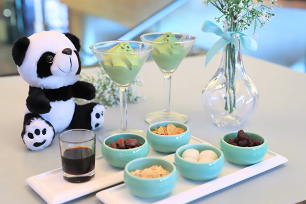 ANAインターコンチネンタルホテル東京の抹茶スイーツブッフェ|抹茶ソフト