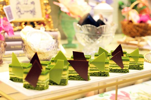 ホテル インターコンチネンタル 東京ベイのスイーツブッフェ|抹茶オペラ