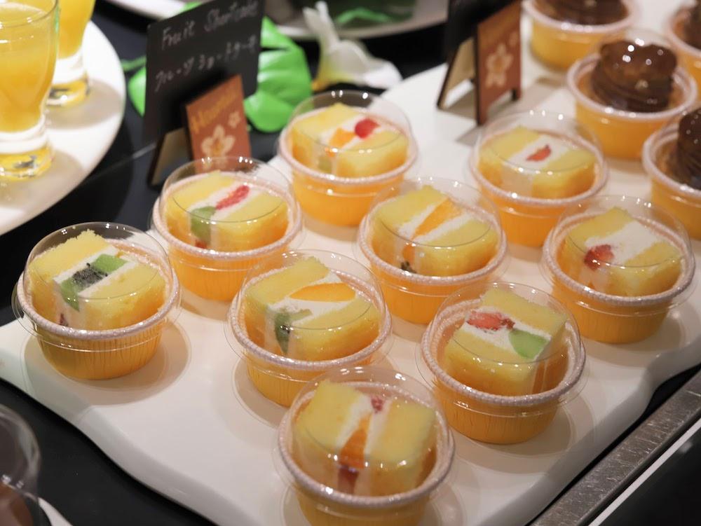 ウェスティンホテル東京のスイーツビュッフェ「シトラス2020」|ショートケーキ