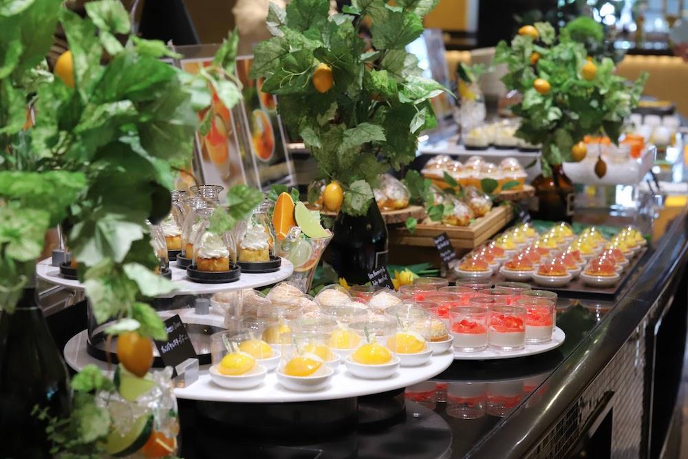 ウェスティンホテル東京|ビュッフェ台