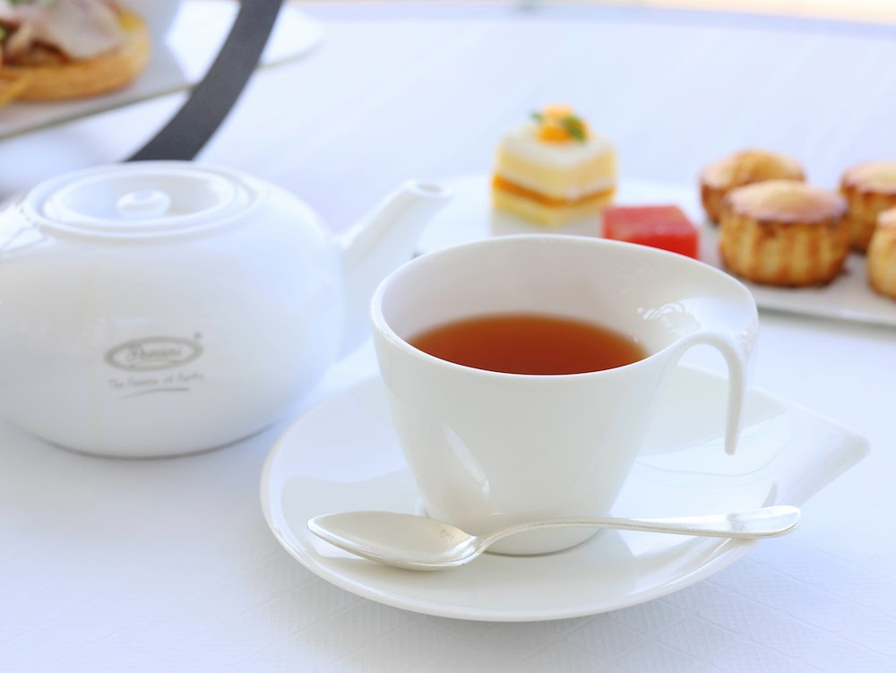 ヒルトン東京お台場のチャペルアフタヌーンティー|紅茶