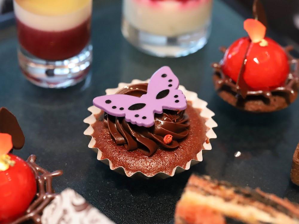 コンラッド東京28thのアフタヌーンティー|カップケーキ