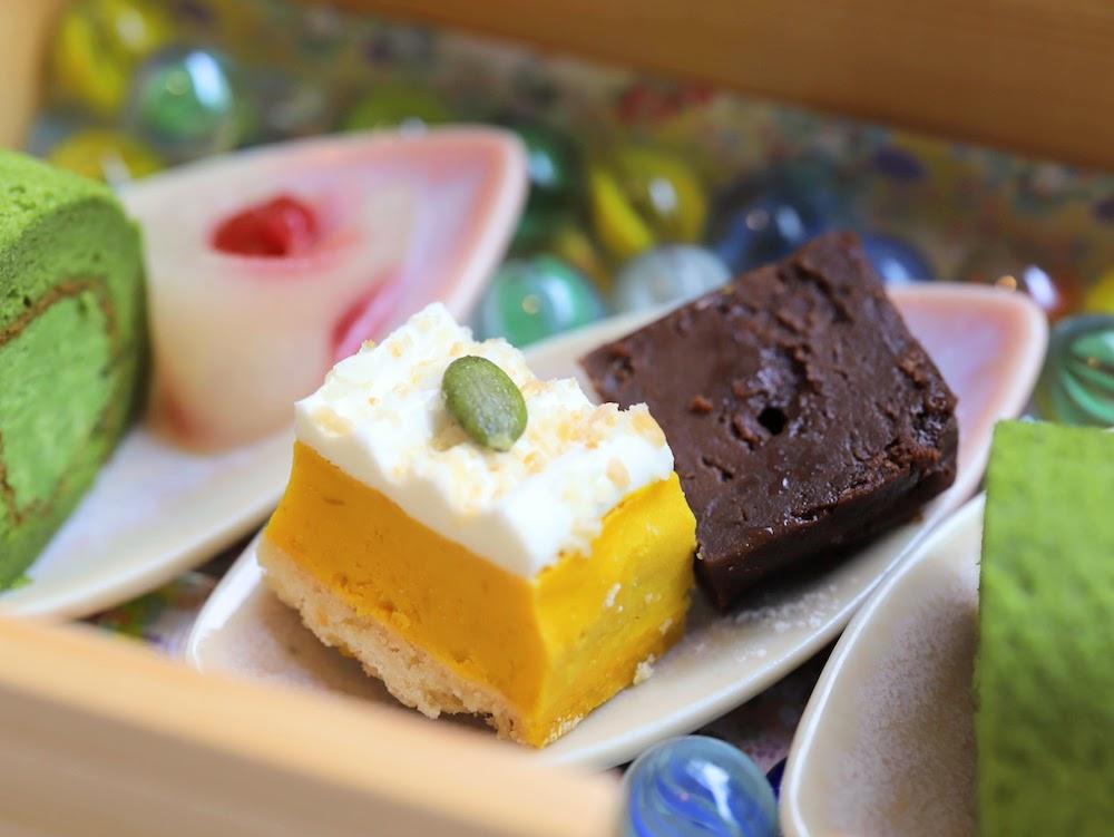 tcc GINZAの洋食のアフタヌーンティー|生チョコレート