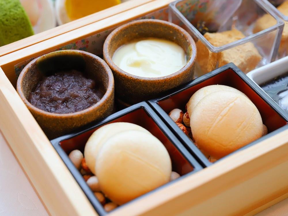 tcc GINZAの洋食のアフタヌーンティー|最中