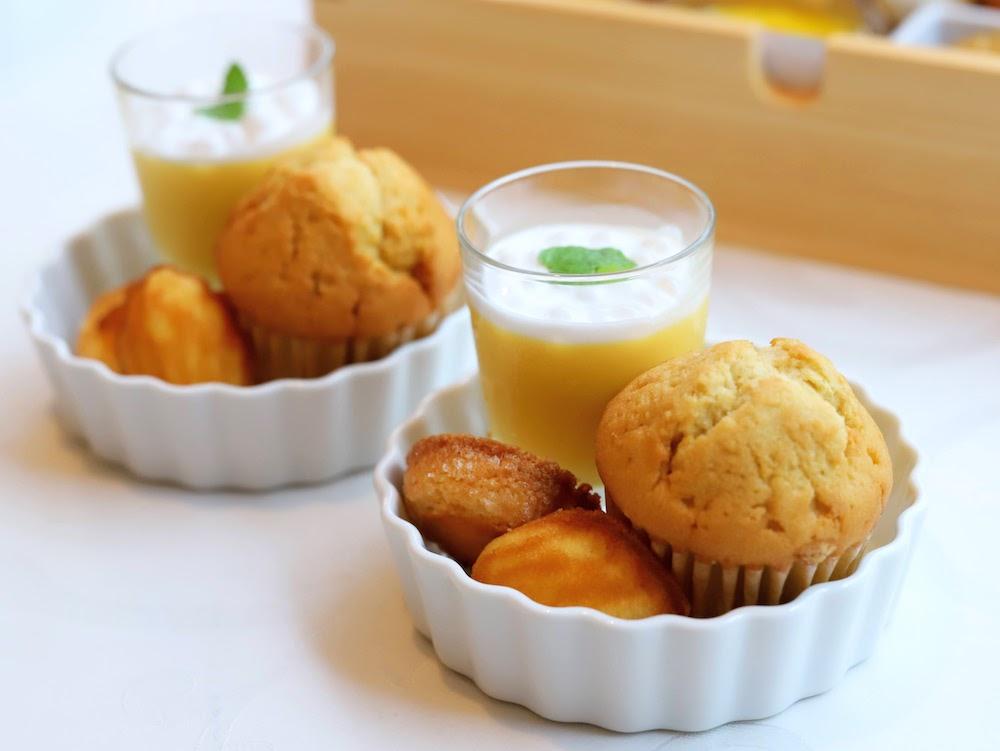 tcc GINZAの洋食のアフタヌーンティー|焼き菓子