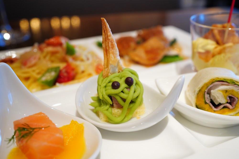 インターコンチネンタル東京ベイ「シェフズライブキッチン」のデザートビュッフェ|軽食