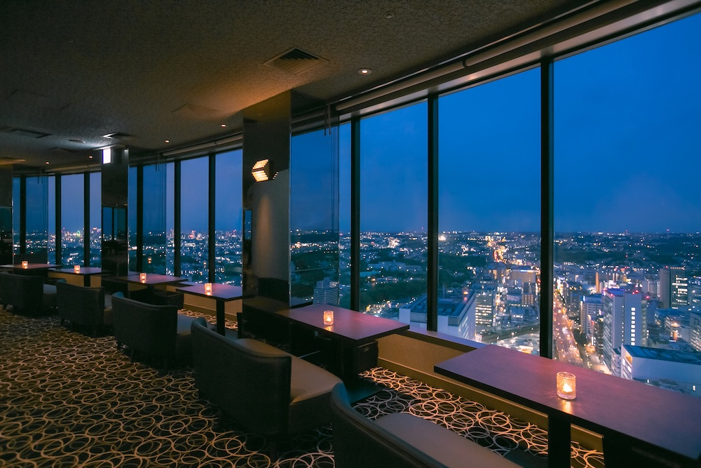 新横浜プリンスホテルのアフタヌーンティー|眺望