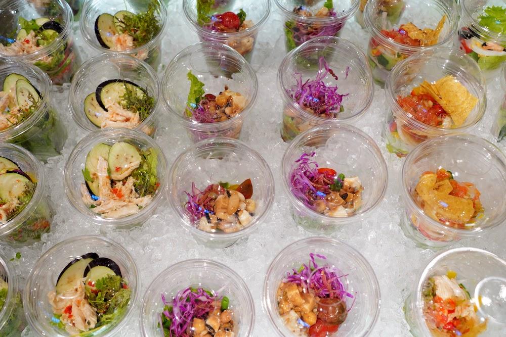 インターコンチネンタル東京ベイ「シェフズライブキッチン」のデザートビュッフェ|サラダ