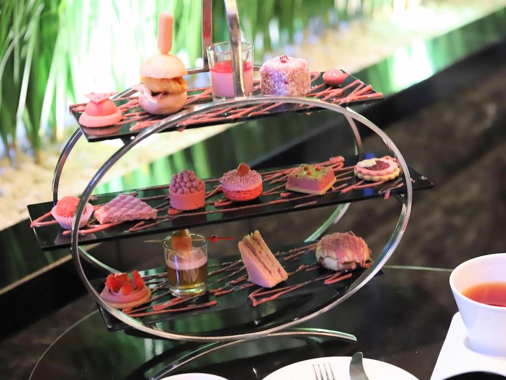 ANAインターコンチネンタルホテル東京のルビーチョコレートアフタヌーンティー|デコレーション