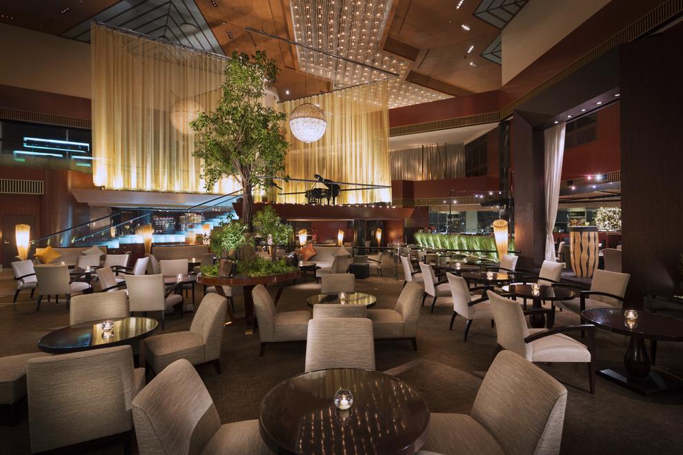 ANAインターコンチネンタルホテル東京のルビーチョコレートアフタヌーンティー|アトリウムラウンジ