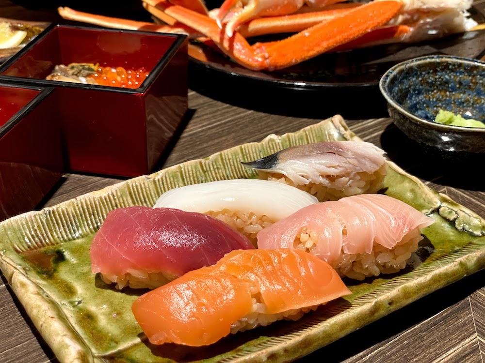 横浜ベイシェラトン「コンパス」のオーダービュッフェ|寿司