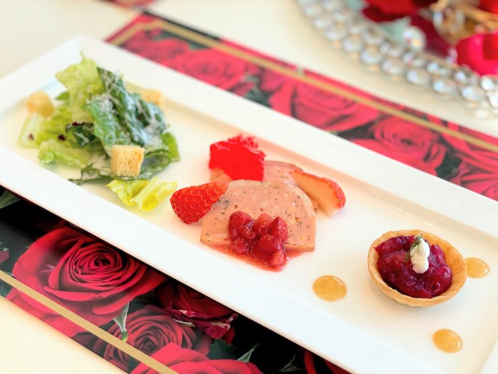 ホテル インターコンチネンタル 東京ベイのスイーツブッフェ|前菜