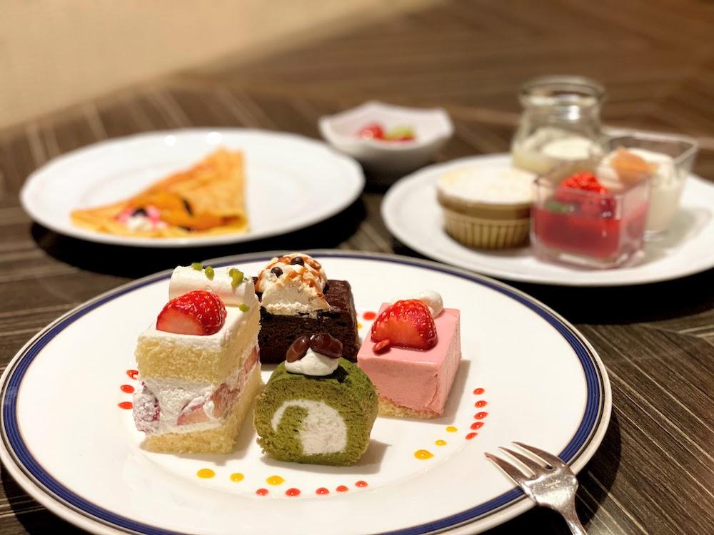 横浜ベイシェラトン「コンパス」のオーダービュッフェ|ケーキ
