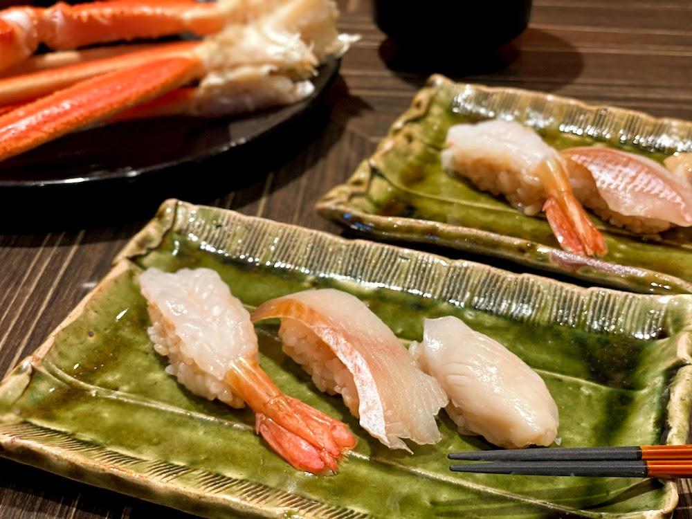 横浜ベイシェラトン「コンパス」のオーダービュッフェ|お寿司