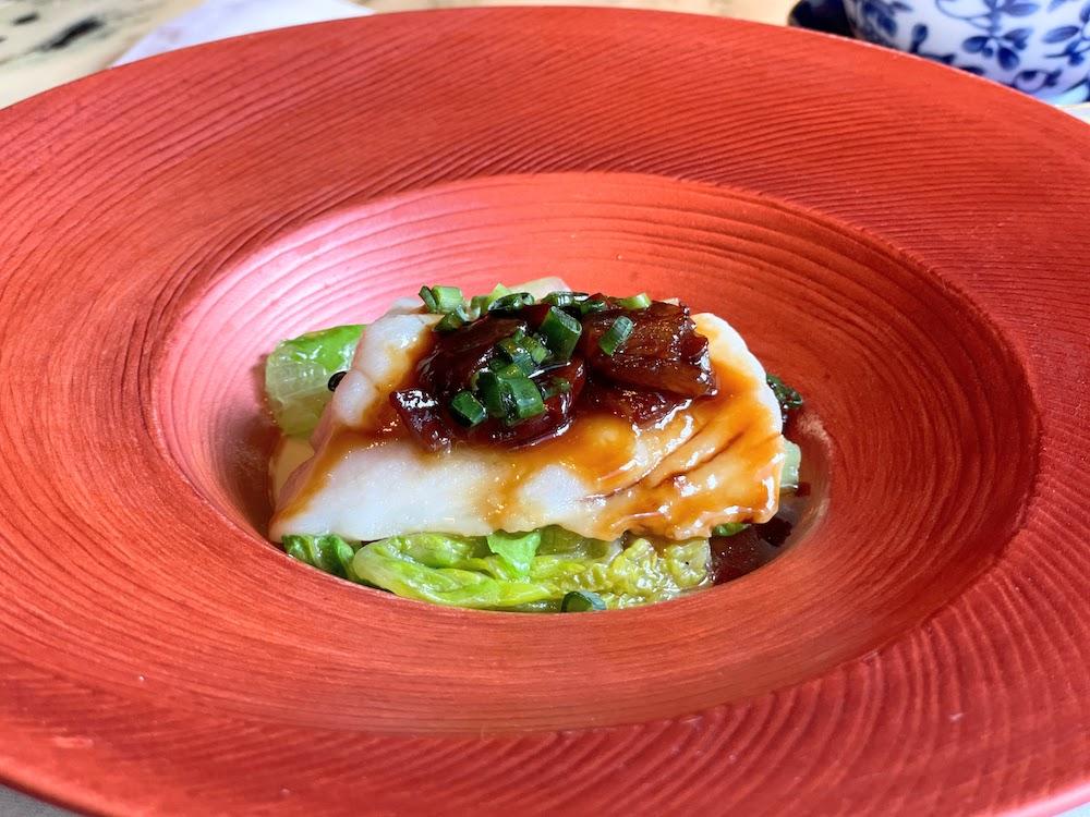ザ・ペニンシュラ東京「ヘイフンテラス」魚料理