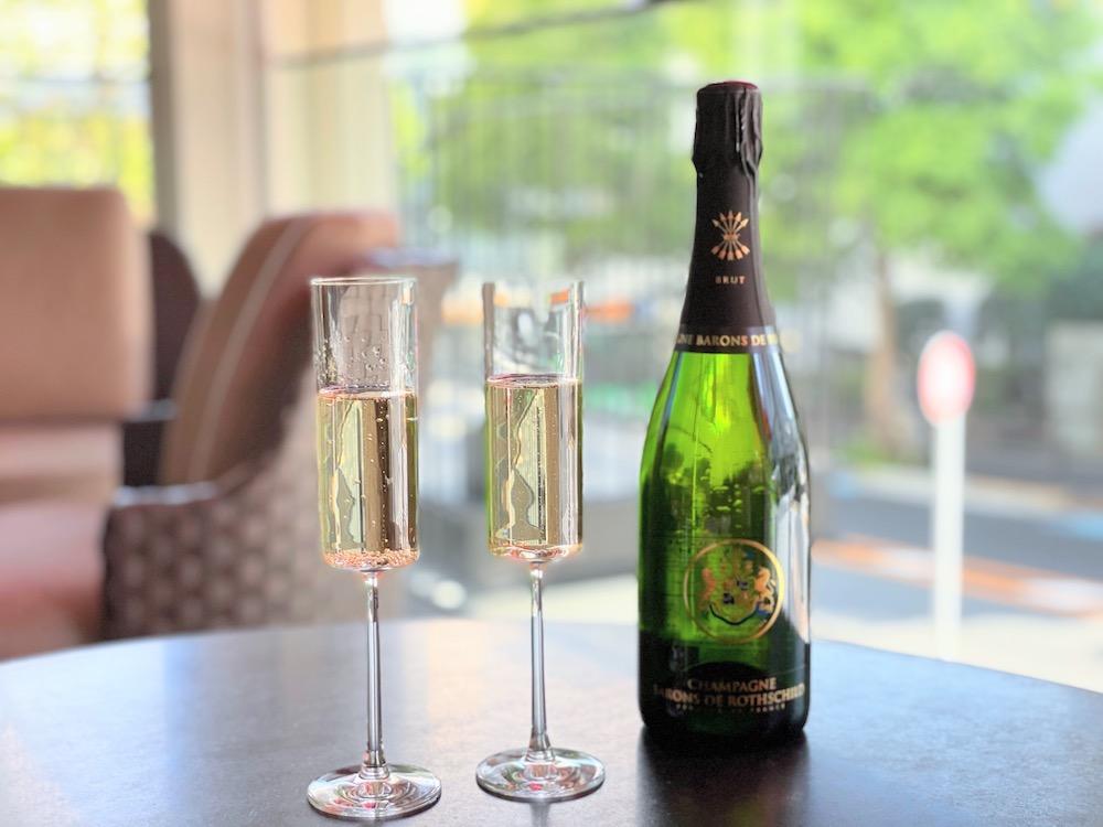 ビュッフェレストラン ザクロのテラスプラン「シャンパン」