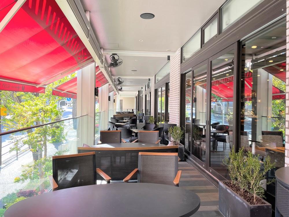 ビュッフェレストラン ザクロのテラスプラン「テラス席」