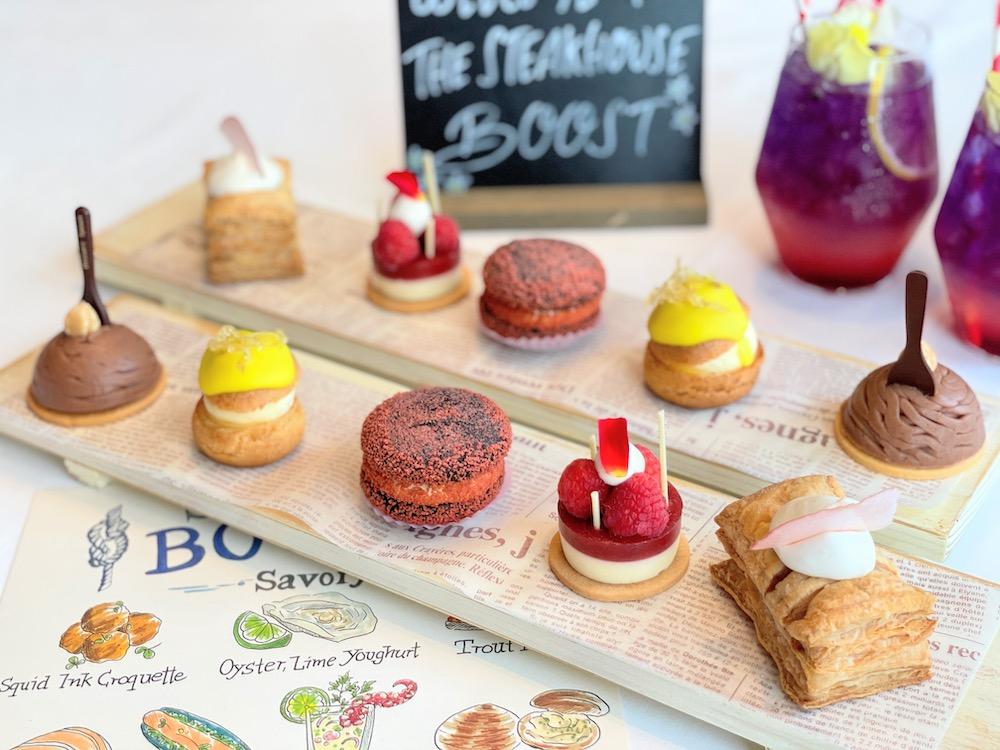 ANAインターコンチネンタルホテル東京「ザ・ステーキハウス」のシーフード・ブースト|デザート