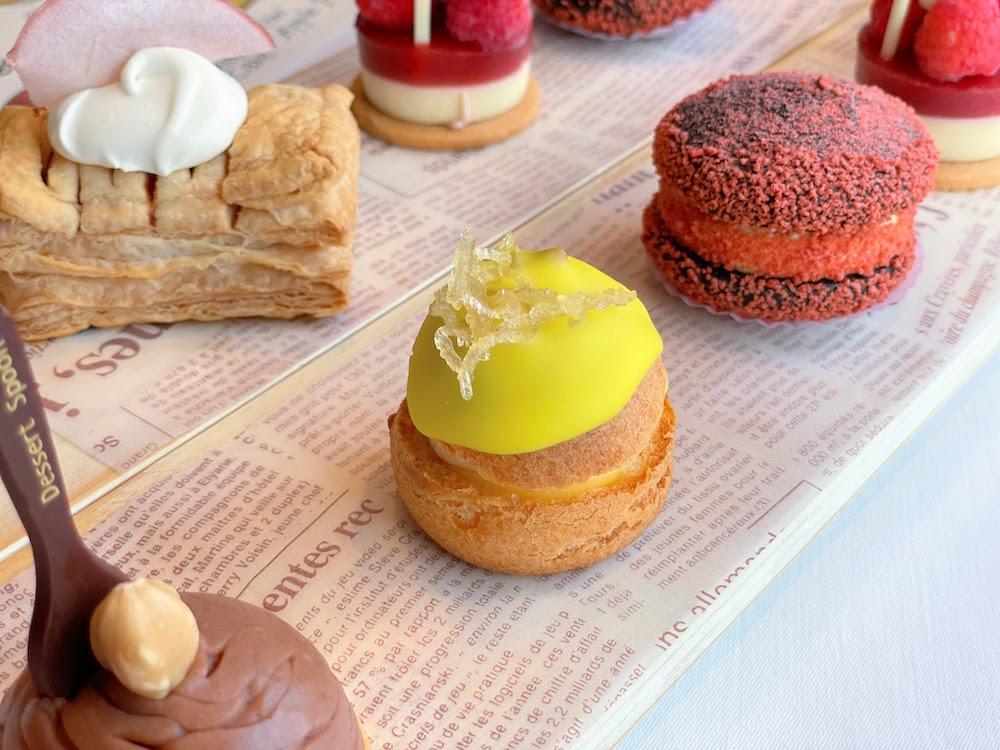 ANAインターコンチネンタルホテル東京「ザ・ステーキハウス」のシーフード・ブースト| レモンクリームパフ