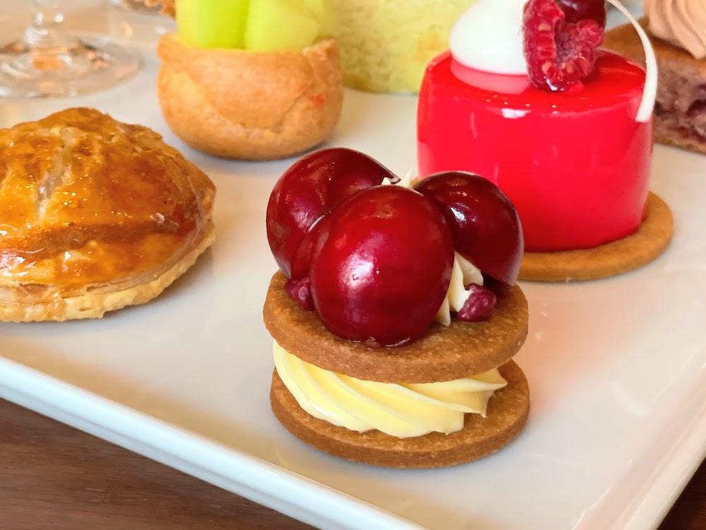 横浜ベイシェラトン「シーウインド」のナイトスイーツビュッフェ バターサンドクッキー