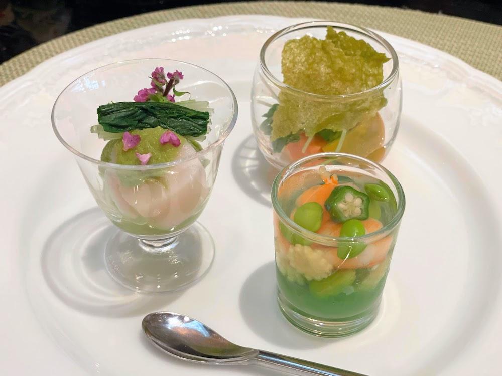 ANAインターコンチネンタルホテル東京の抹茶スイーツブッフェ|セイボリー
