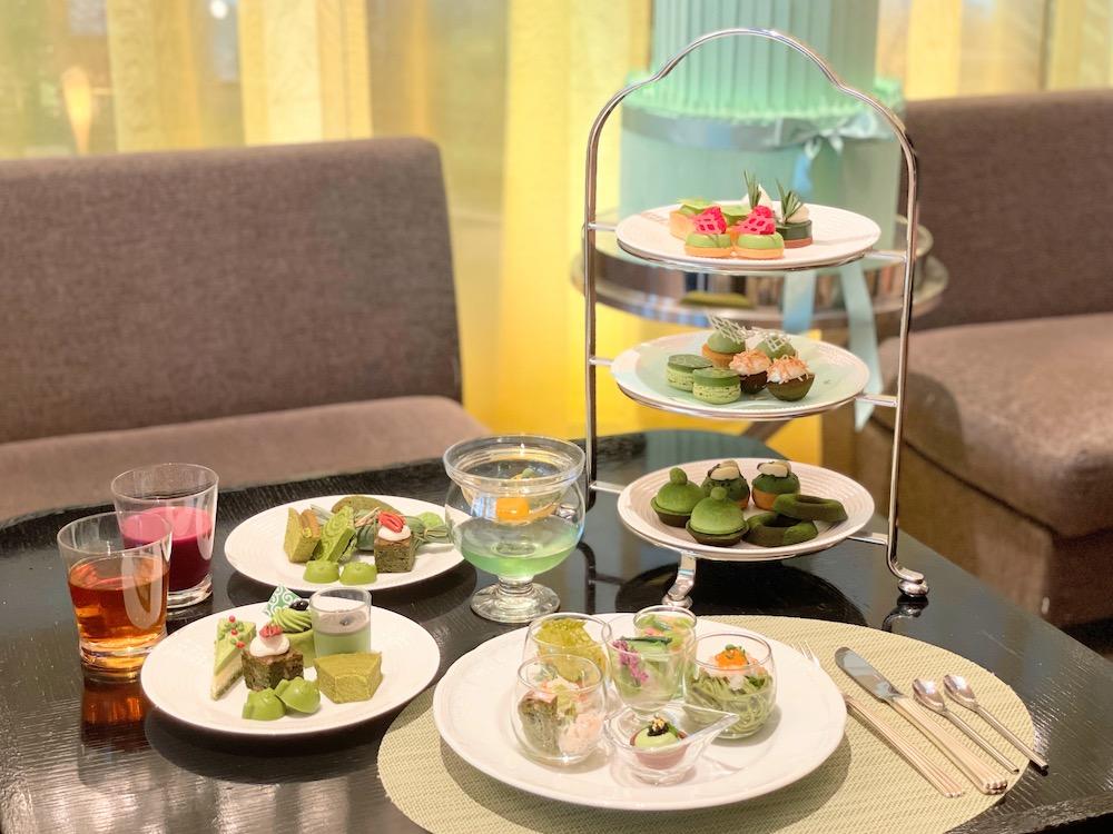 ANAインターコンチネンタルホテル東京の抹茶スイーツブッフェ|2021