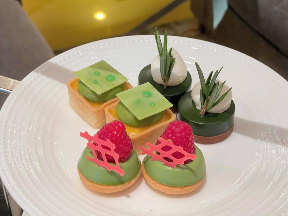 コンチネンタルホテル東京の抹茶スイーツブッフェ|抹茶タルト