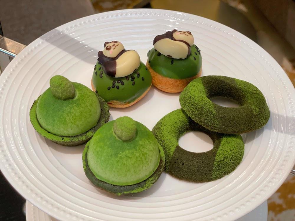 コンチネンタルホテル東京の抹茶スイーツブッフェ|抹茶デザート